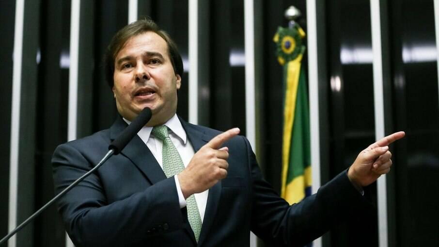 Ex-presidente da Câmara, Rodrigo Maia (DEM-RJ) elogiou Lula (PT)