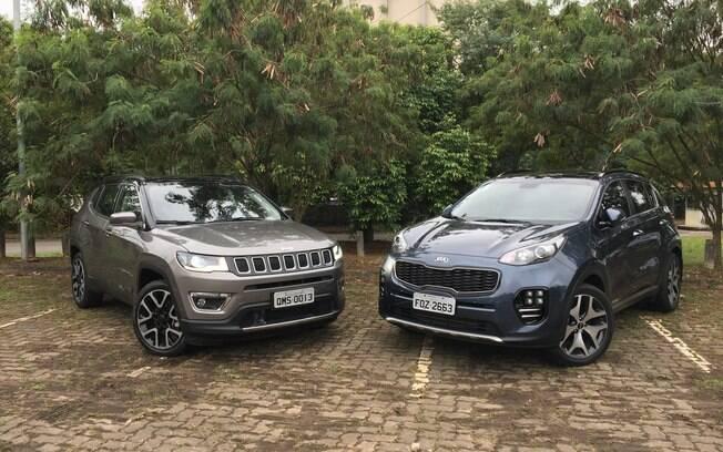 Jeep Compass x Kia Sportage: SUV coreano mais largo e de linhas arrojadas enfrente melhor obstáculos urbanos