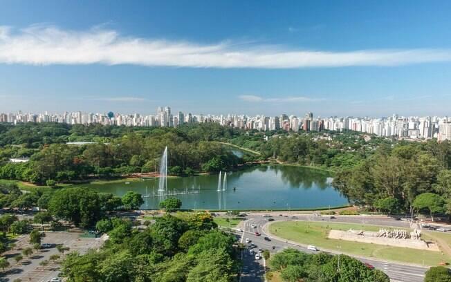 Viver próximo a menos de 300 m de áreas verdes urbanas como o Parque Ibirapuera pode ajudar melhorar sua saúde mental