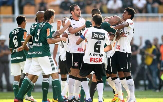 Palmeiras não vence o Corinthians no Pacaembu há 17 anos - Futebol - iG e571690b046cf