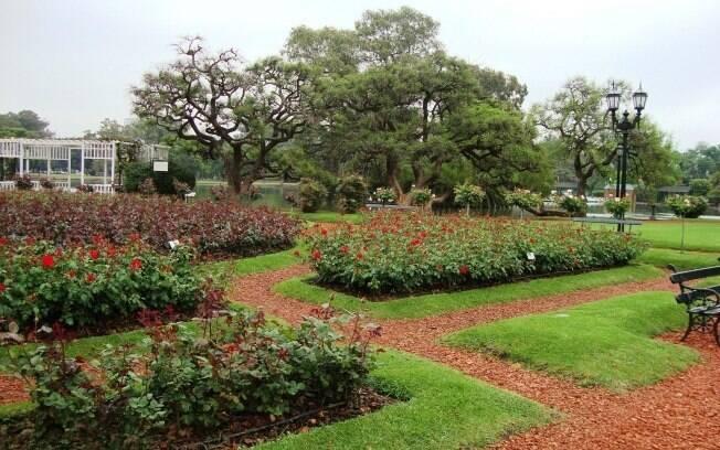 Buenos Aires está repleta de grandes parques, como os Bosques de Palermo