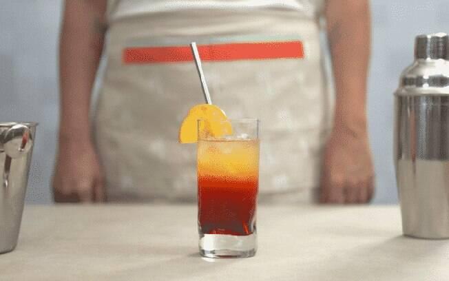 Tequila Sunrise: drink perfeito para comear o ano bem