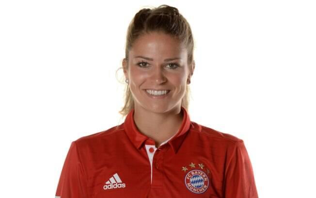 Melanie Leupolz foi a terceira colocada