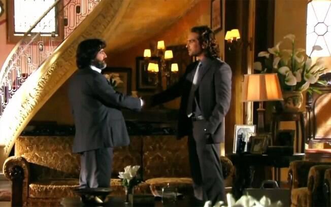 Alberto pede para Dom Rafael se livrar de Cassiano