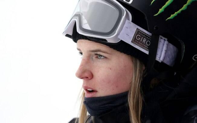 Cassie Sharpe, competidora canadense do esqui estilo livre