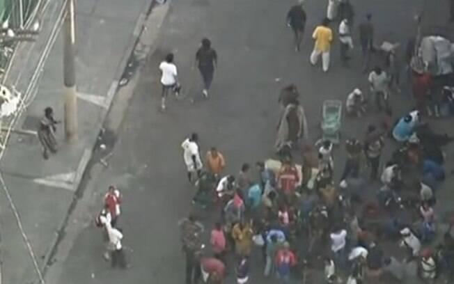 Usuários de crack em São Paulo: drogas pesadas estão praticamente excluídas do debate
