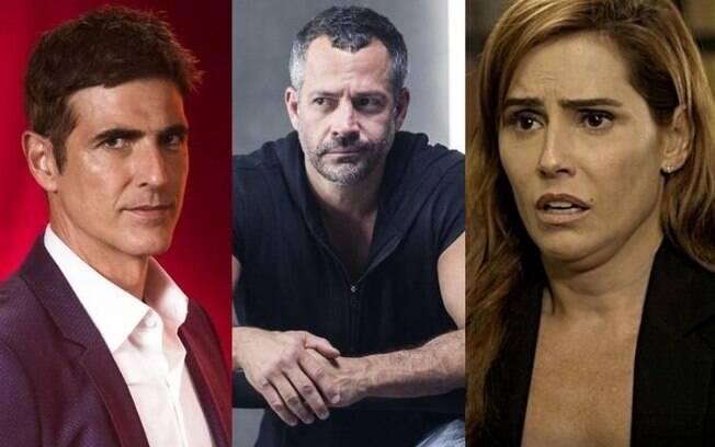 Reynaldo Gianecchini, Deborah Secco e Malvino Salvador