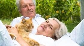 Pets são boas companhias para idosos