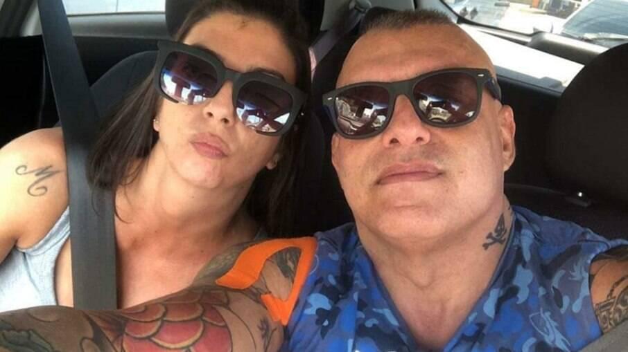 Vanessa Haddad e Marcelo Mathias