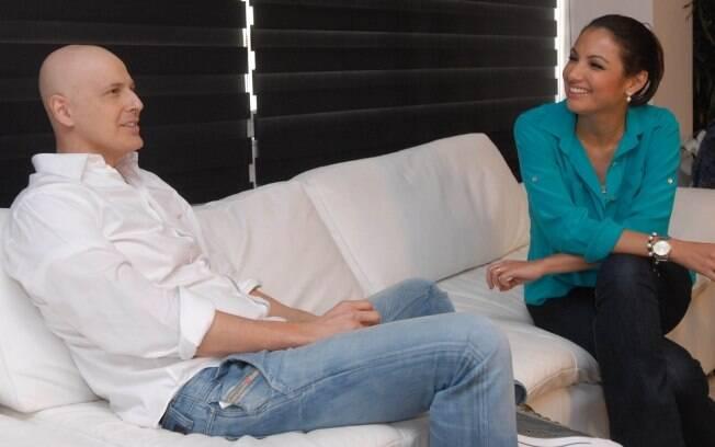 Reynaldo Gianecchini e Patricia Poeta
