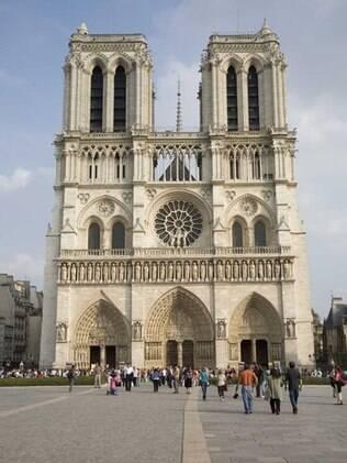 É possível visita o interior da catedral de Notre-dame de Paris de graça