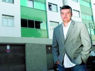 Rapidez. Peterson Rodrigo teve problemas de rachaduras no prédio onde mora e solução com construtora veio da Câmara de Mediação