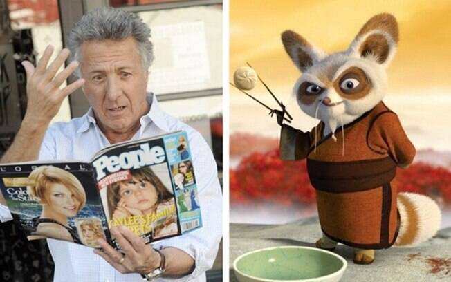 Dustin Hoffman – Mestre Shifu (Kung Fu Panda)