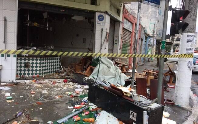 Explosão em restaurante na V. Mariana deixou 6 pessoas feridas, uma está em estado grave, com queimaduras de 2º grau