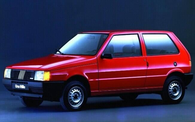 Fiat Uno Mille: primeiro carro popular 1.0 da nova leva que começou a aparecer no início dos anos 90