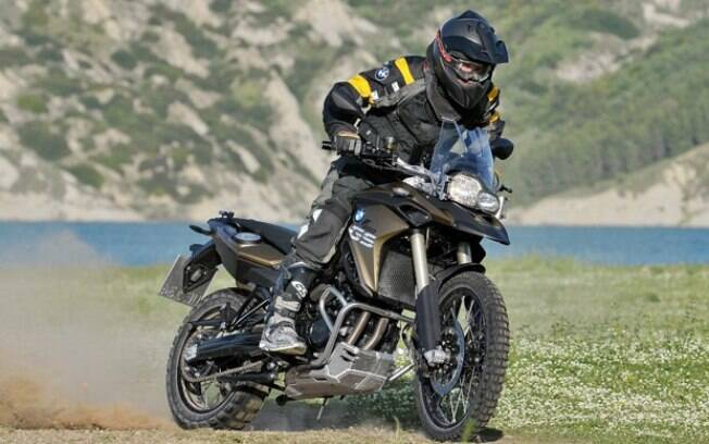 BMW F 800 GS: campeã entre os anúncios e figura entre as cinco motos usadas, junto com a G 650 GS, também da BMW