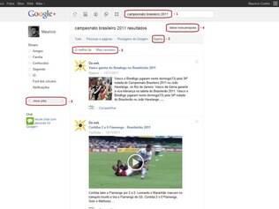 Sparks funciona como um feed de notícias RSS