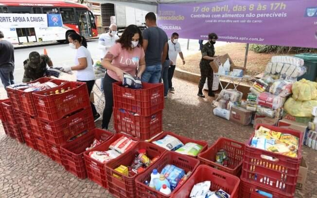 Campanha da EPTV arrecada cerca de 409 toneladas de alimentos