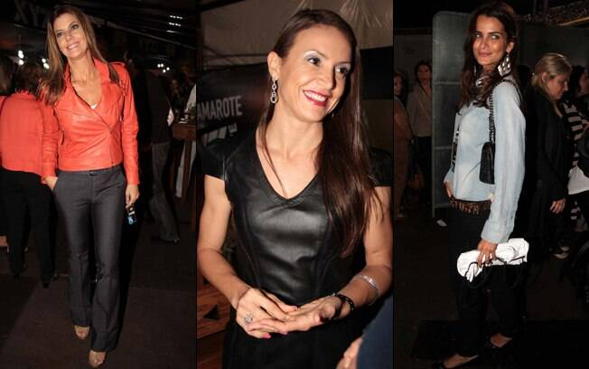 Fabiana Scaranzi, Maurren Maggi e Fernanda Motta