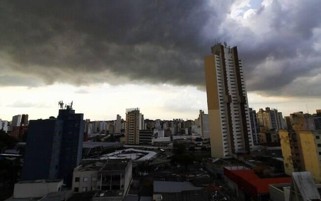 Quarta-feira tem previsão de temporais na região de Campinas