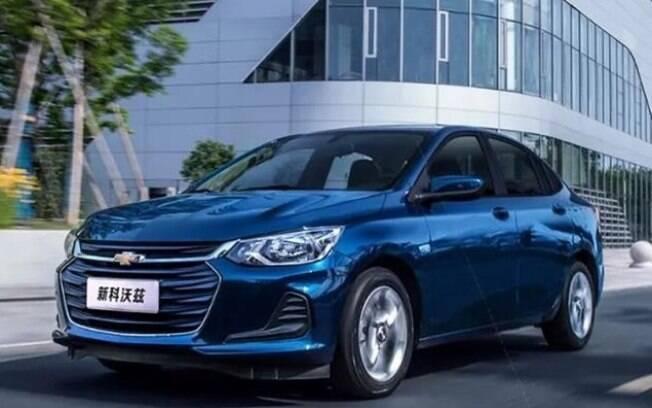Chevrolet Onix Sedan na versão intermediária LT já começa a ser vendida na China e chega ao Brasil no fim do ano