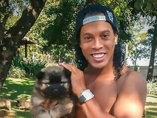 Segundo Ronaldingo Gaúcho, cão foi um presente de um amigo