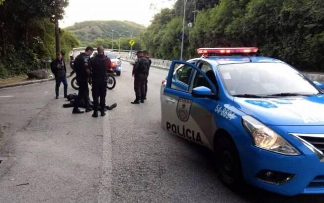 Tentativa de assalto aconteceu na madrugada desa terça-feira (18).