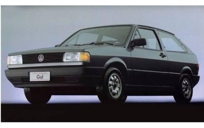 Volkswagen Gol: mesmo sendo pouco tecnológico, foi o carro que reinou durante quase três décadas.