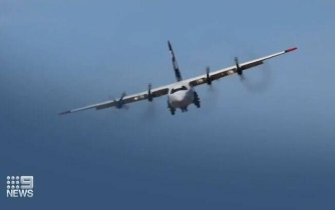 Avião caiu durante combate a incêndio