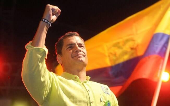 Ex-presidente do Equador, Rafael Correa é suspeito de envolvimento no suposto sequestro do ex-deputado da oposição Fernando Balda