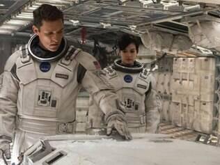 Os atores Matthew McConaughey, Anne Hathaway e David Gyasi estrelam o filme 'Interestelar'