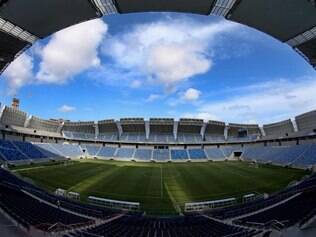 Secretário geral da Fifa postou fotos da vista do camarote