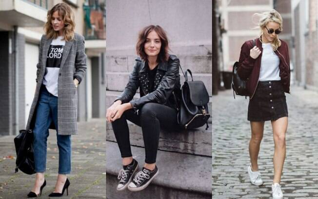 Os looks com mochila de couro podem ser interessantes para aqueles dias que você precise levar um casaco consigo