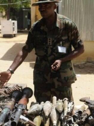 Exército recuperou armas em confronto anterior mas perdeu o controle de Baga