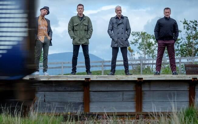 A gangue volta a se reunir em T2 Trainspotting, que estreia nesta quinta-feira nos cinemas brasileiros