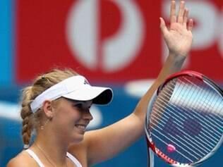 Wozniacki vai encarar a francesa Kristina Mladenovic na semifinal