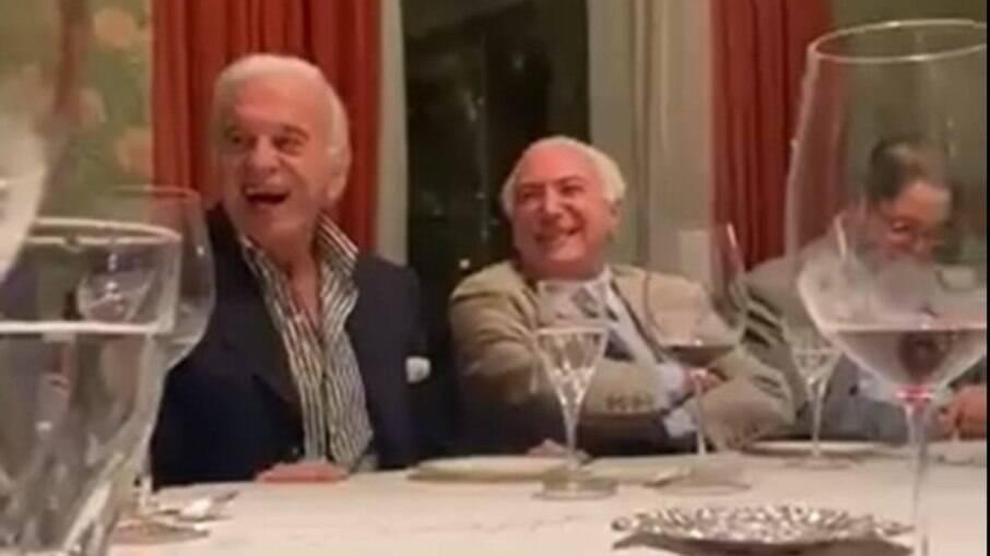 empresário imita Bolsonaro em jantar com Temer