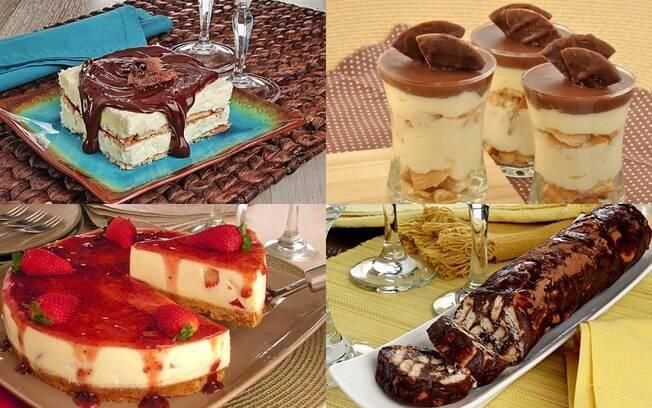 Quer economizar na sobremesa? Confira 8 receitas com biscoito maisena
