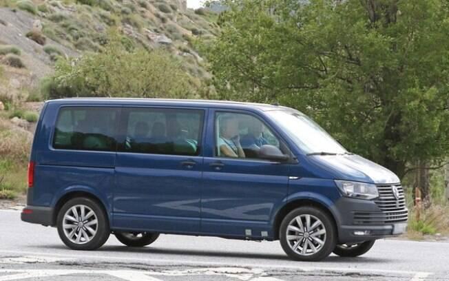 Van de passageiros Transporter: usará a mesma plataforma para as marcas VW e Ford,  uma das inovações automotivas