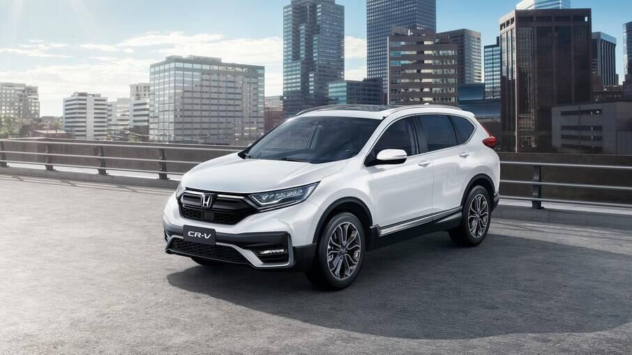 Honda CR-V 2021: SUV da marca japonesa recebe nova grade dianteira e detalhes estéticos nos faróis full LED