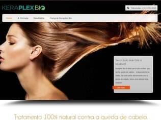 A Anvisa suspende, em todo o território nacional, propagandas divulgadas pelo site  e em todo e qualquer tipo de mídia relativas ao produto Keraplex Bio