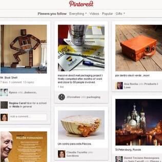 Pinterest aumentou em 50% sua audiência entre janeiro e fevereiro de 2012, diz estudo