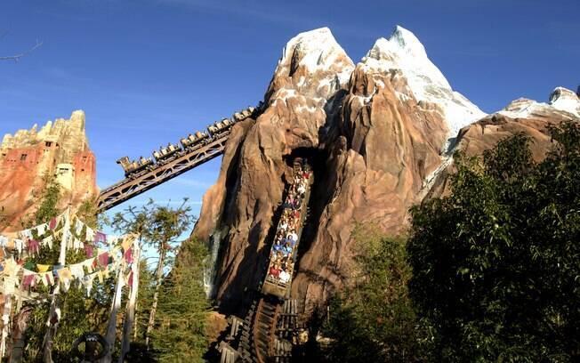 Expedition Everest – Legend of The Forbidden Mountain é mais uma das atrações da Disney