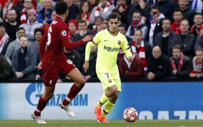 Após mais uma partida ruim, Coutinho foi criticado pela torcida e pela imprensa espanhola.