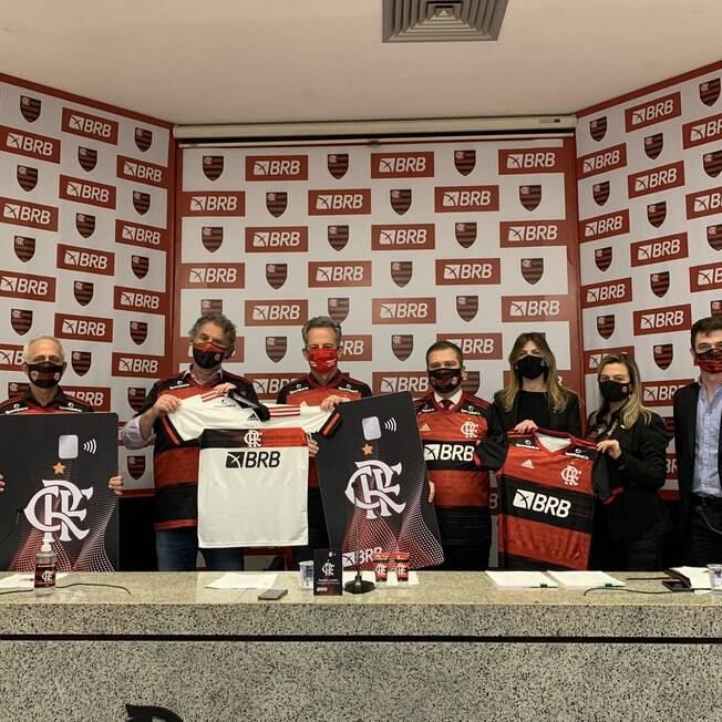 Flamengo anunciou BRB como novo patrocinador