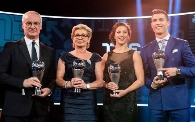 Os melhores jogadores e técnicos de 2016 eleitos pela Fifa