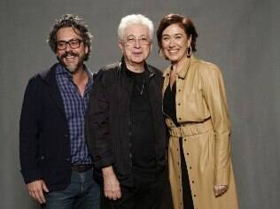 Alexandre Nero, Aguinaldo Silva e Lílian Cabral