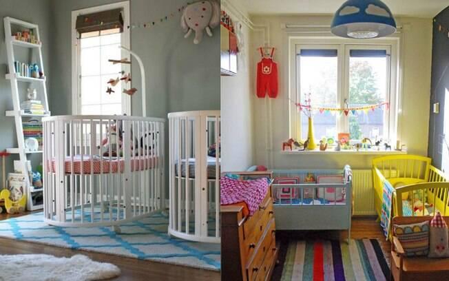Diferentes cores dão alegria ao quarto da criança, então não é preciso ficar com medo na hora de decorar o cômodo