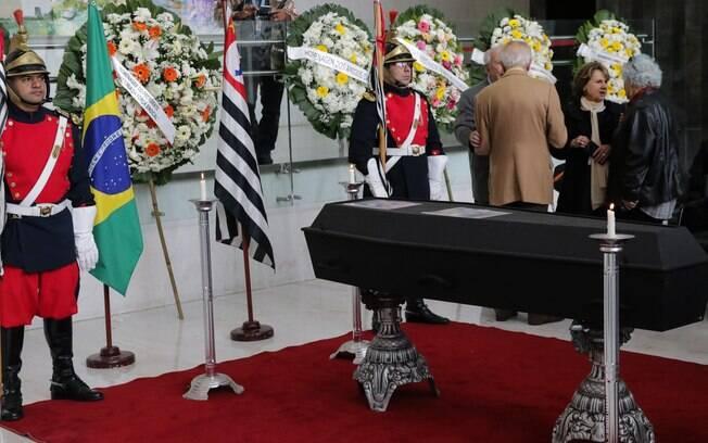Ex-governador Alberto Goldman é velado na Assembleia Legislativa de São Paulo