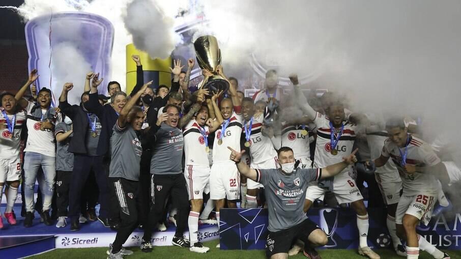 São Paulo é campeão paulista de 2021